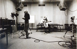 RUC's own TV-Studio, for internal transmissions