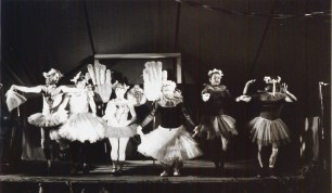 Dance performance at the annual revue