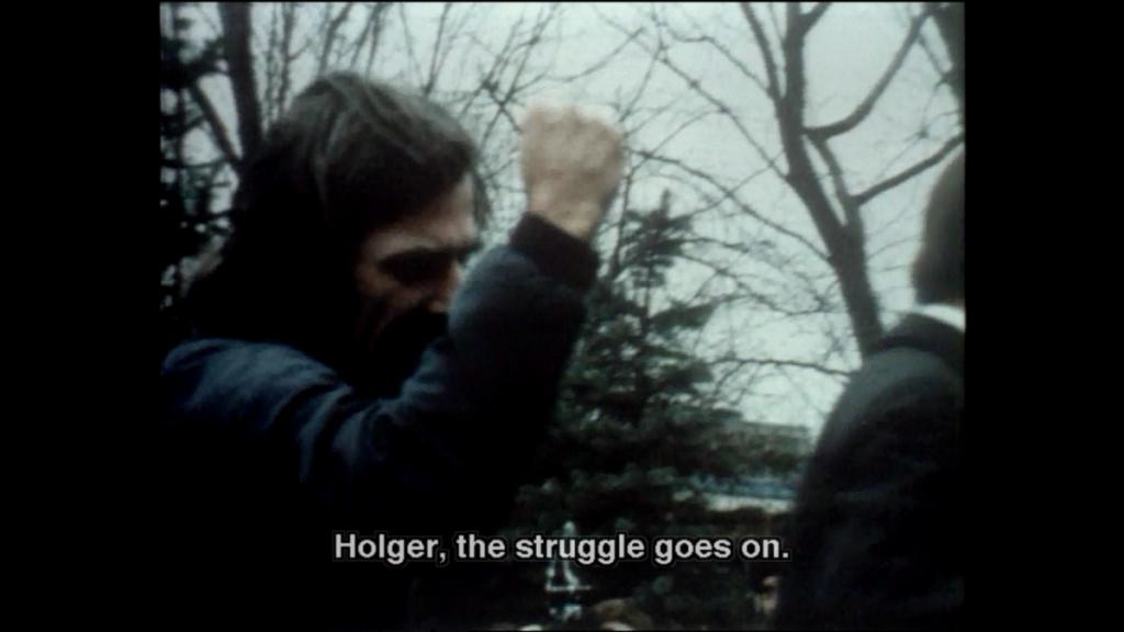 Holger Meins' funeral