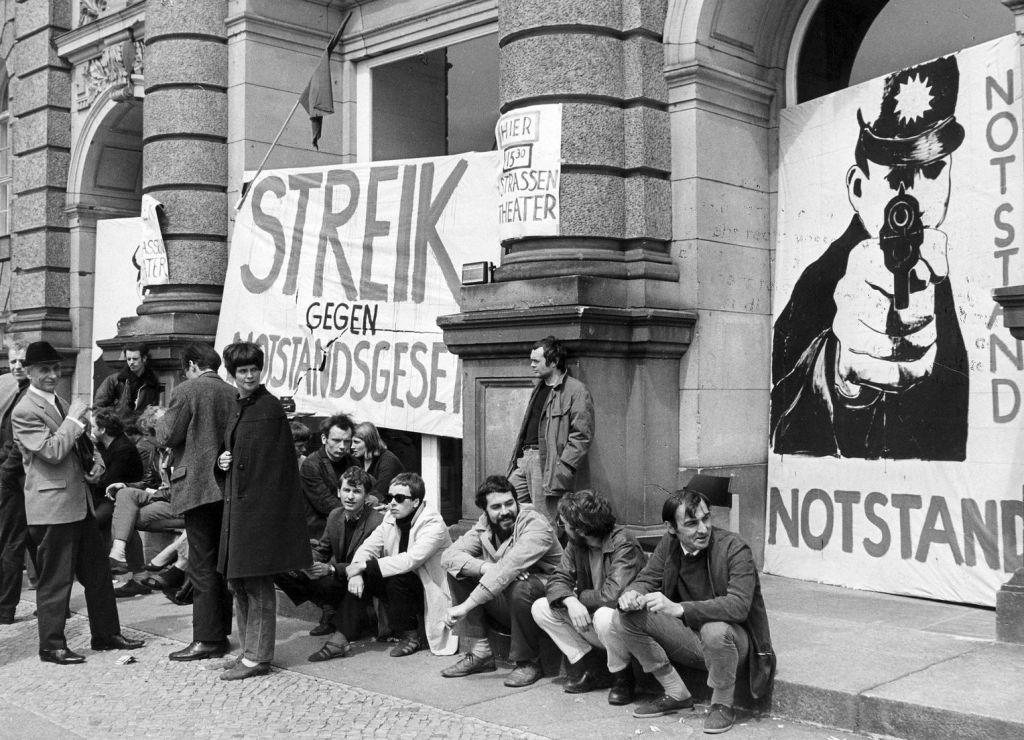 Insurgency Laws 1968, Germany